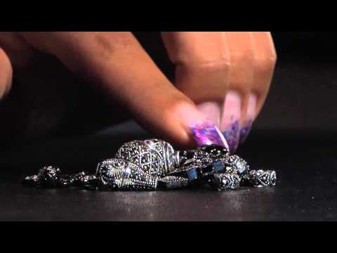 Black Magic and Marcasite beads & Findings by BeadSmith