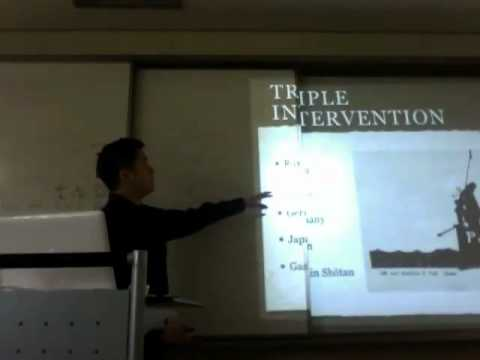 Triple Intervention and 21 Demands Lecture Part 1/2