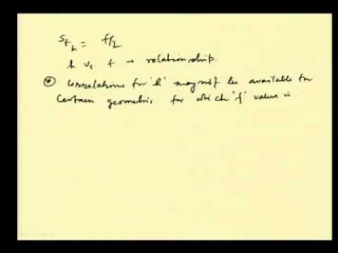 Mod-04 Lec-18 Momentum and heat transfer analogies