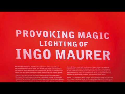 Cooper-Hewitt: Provoking Magic - Lighting of Ingo Maurer