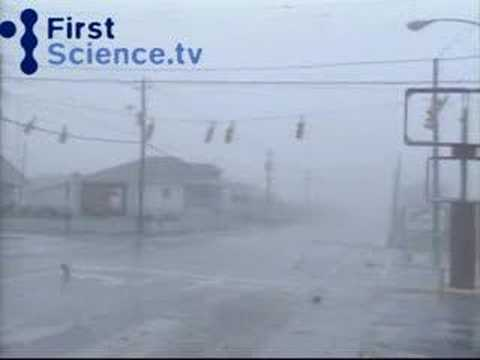 Hurricane Bertha Damage