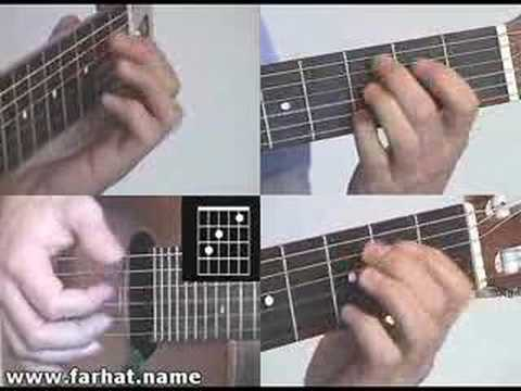 Let It Be - Beatles Guitar Cover  Part 1 easy www.FarhatGuitar.com