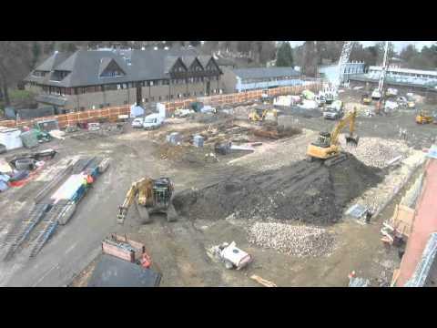 Construction progress, Mar 2011 - Gibbs