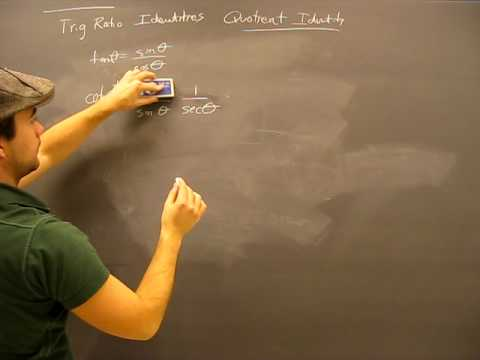 Quotient Identity Proof Pt2: Trigonometry: Trig Math Help