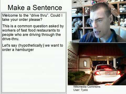 Learn English Make a Sentence and Pronunciation Lesson 147: Can I take your order