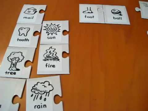 Preschool - Language. Compound words