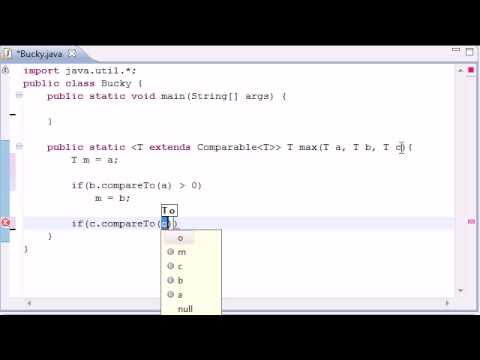 Intermediate Java Tutorial - 19 - Generic Return Types