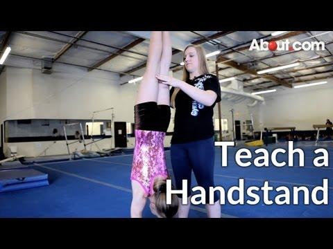 How to Teach a Handstand