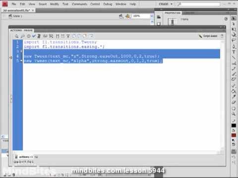 Use 3D Flash 17: ActionScript Vanishing Points