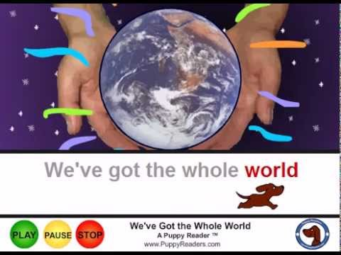 We've Got the Whole World in our Hands: Song Animation
