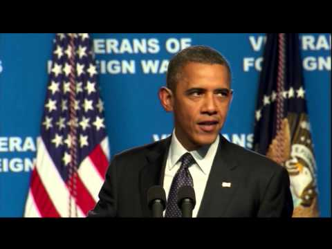 Watch President Obama's Full Speech at VFW Convention