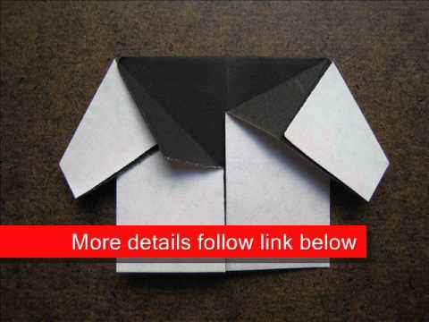 How to Fold Origami Baby Jacket - OrigamiInstruction.com