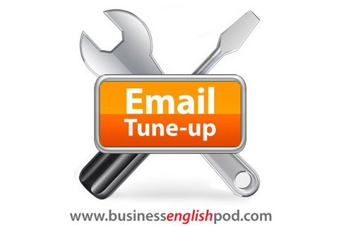ET 05 Email Tune-up - Business English Writing Lesson for ESL
