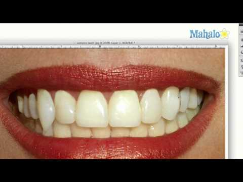 Create Vampire Teeth in Photoshop