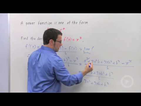 Calculus - Derivatives of Power Functions