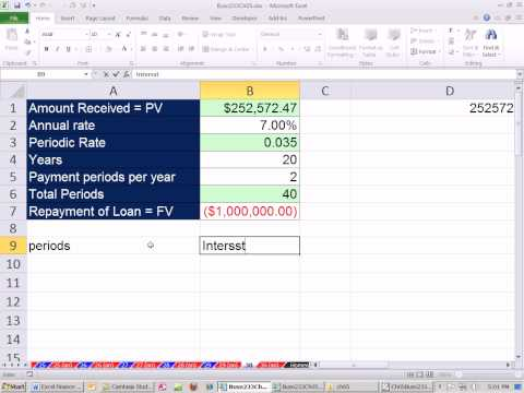 Excel Finance Class 44: Deep Discount Loans