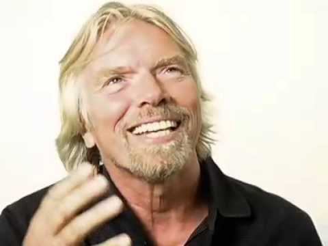 Richard Branson Imagines the Future