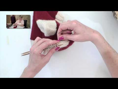 Learn to Knit a Christmas Stocking - Part 6