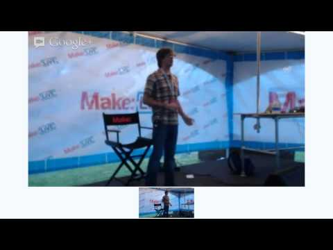 Crowdfunding Success Patterns on Make: Live Stage at World Maker Faire 2012