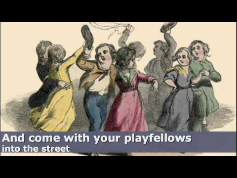 Girls and Boys Come Out To Play - English Nursery Rhyme