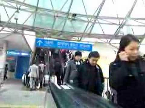 Seoul - Escalator
