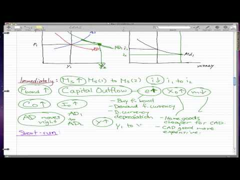 Macroeconomics - 45 (P2): Monetary policy and output