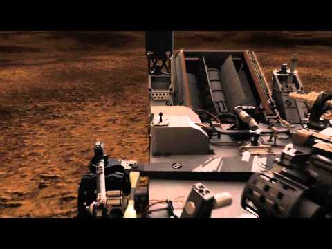 Next Mars Rover in Action