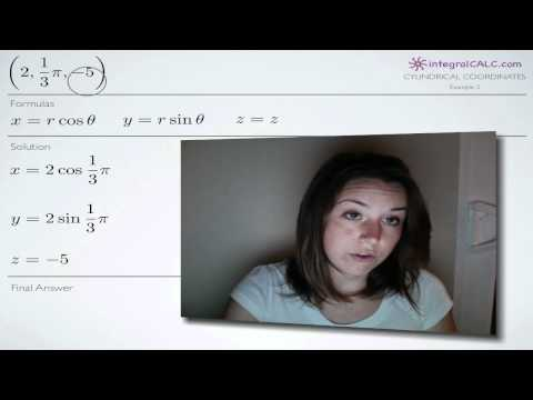 Cylindrical Coordinates Example 3