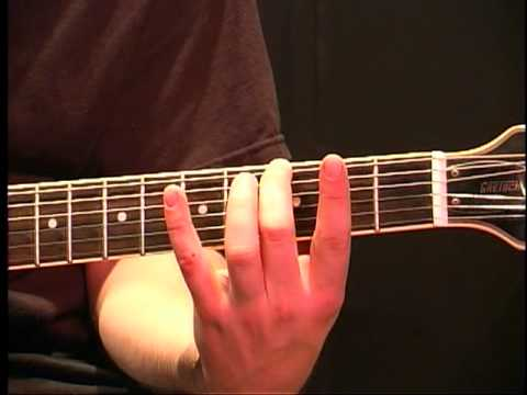 Beginning Guitar Lesson - How To Play The Minor Scale