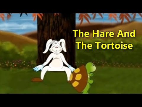 The Hare And The Tortoise - Animated Story For Kids