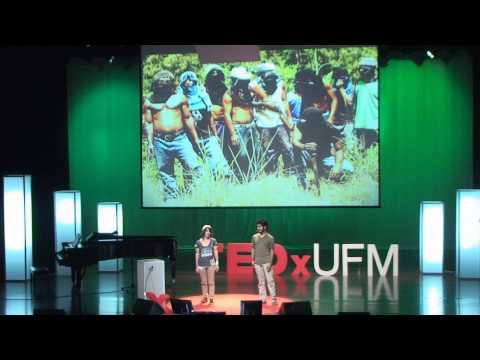 Learn How to Stop Worrying and Change the Lens, Alicia Sully and Pedro Julio Ramirez Paz at TEDxUFM