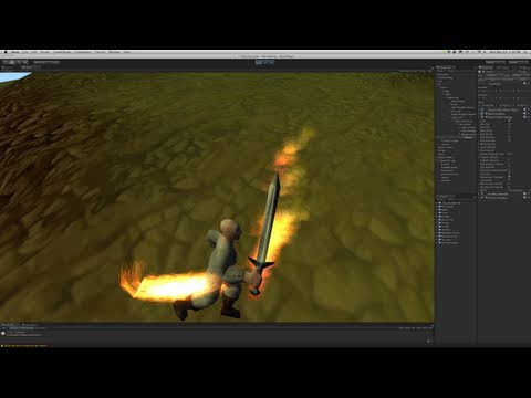 225. Unity3d Tutorial - Particle System (Weapon Trails)