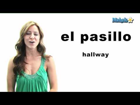 "How to Say ""Hallway"" in Spanish"