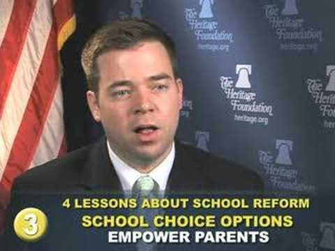 Four Important Lessons About School Reform