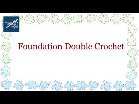 Art of Crochet by Teresa - Left Hand Foundation Chainless Double Crochet