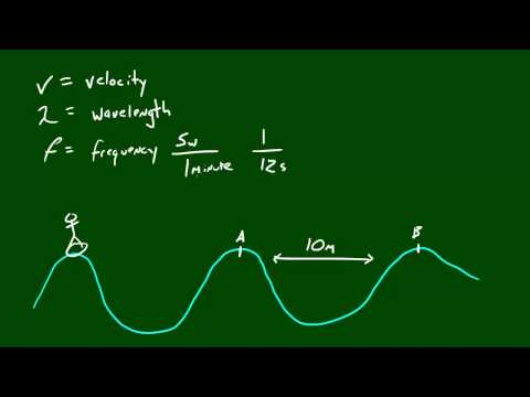 Physics Lecture - 38 - Velocity of a Wave Formula