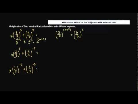 1464. Multiplication of Two identical Rational numbers with different exponent