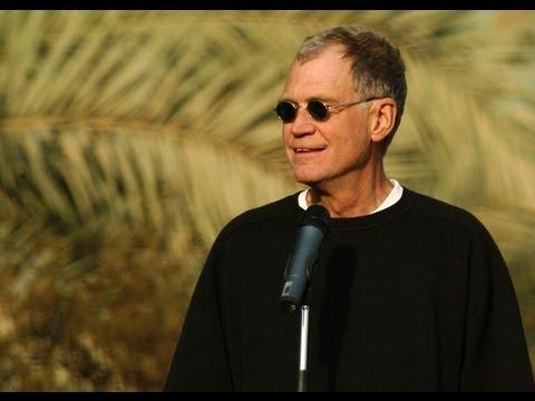 Letterman Becomes Terrorist Target
