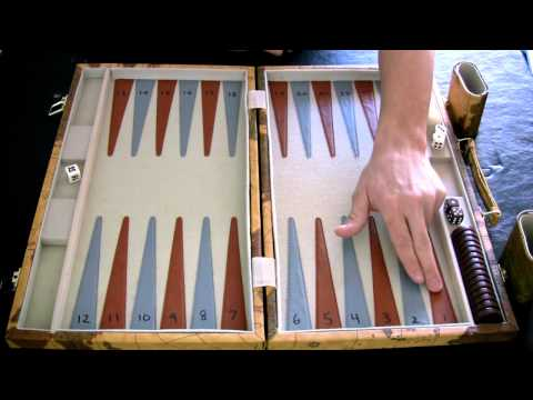 Beginner Backgammon Tutorial - 1 - Setting up the Board