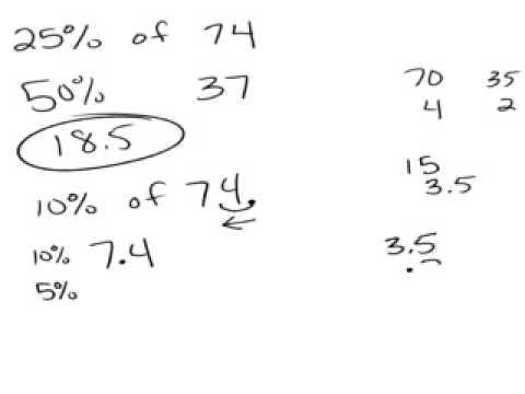 Finding 25 percent