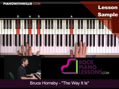 Sample chapter: Bruce Hornsby - The Way It Is - PianoWithWillie.com