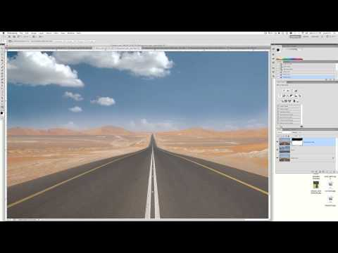 How to Replace the sky background using Photoshop