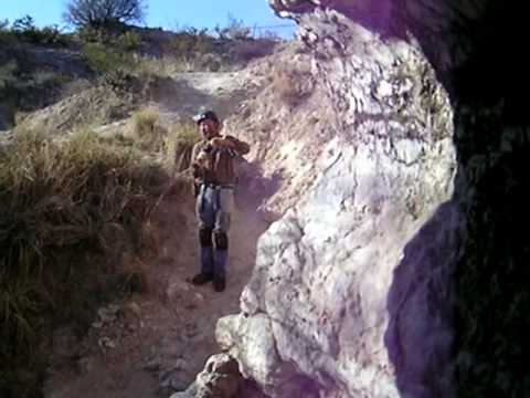 Exiting Another Wild Cave In New Mexico