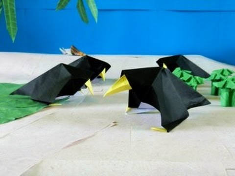 Origami CROW OF DEATH