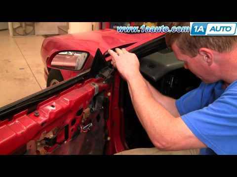 How To Remove Door Weatherstrip Seal 82-92 Chevy Camaro Iroc-Z Pontiac Trans Am 1AAuto.com