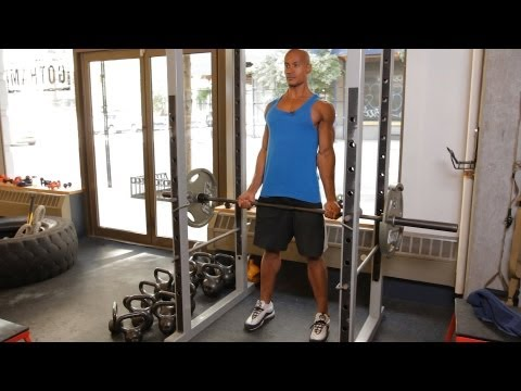 How to Do Rack Pulls   Home Back Workout for Men