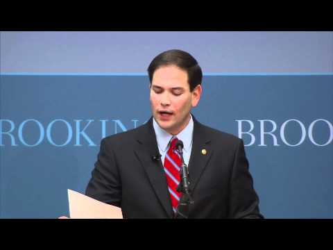 Marco Rubio's Foreign Policy Speech at Brookings Institute