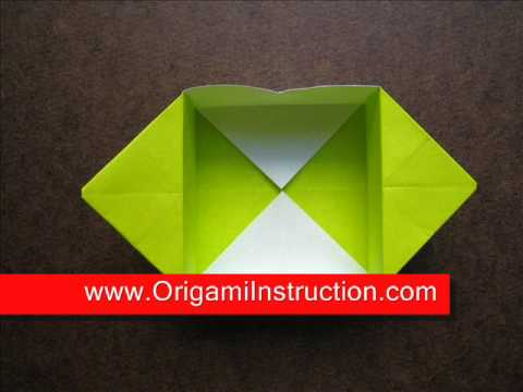 How to Fold Simple Origami Foldable Box - OrigamiInstruction.com