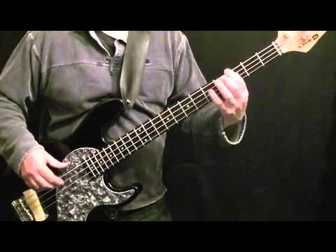 How To Play Bass Guitar To Shake Your Body (Down To The Ground) - The Jacksons