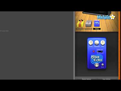 Delay Pedal - GarageBand Tutorial